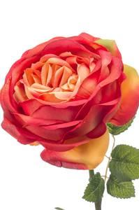 """Bilde av Kunstig Rose """"Vicky"""" Oransje 66cm"""