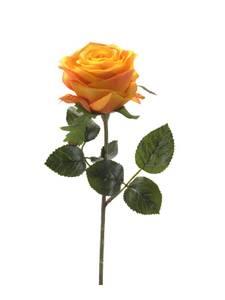 """Bilde av Kunstig Rose """"Simone"""" Oransje 45cm"""